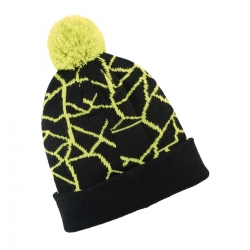 SHATTERED CUFF CAP BLK/LIME 2868652-1128