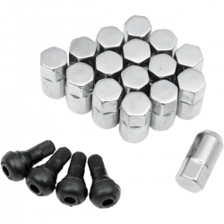 LUG NUT 3/8 CHROME POLARIS-1142