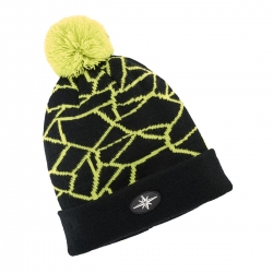 SHATTERED CUFF CAP BLK/LIME 2868652-5